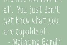 Positive Inspiration / Words to inspire the brighter side of life.