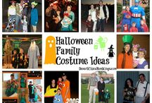Halloween Costume Ideas / Halloween costume ideas for adults, kids, and the pets!