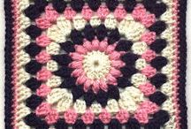 Crochet Granny Squares Free Pattern Links / crochet granny, squares, flowers
