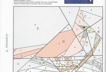 oiseaux paper piecing