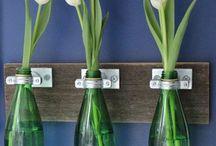 Botellas de cristal