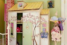 Decoración Infantil / Decoración infantil. Dormitorios infantiles, rincones de juego, espacios de estudio y mucho más.