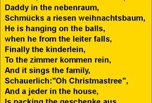 Sprechen Weihnacht