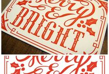 Holidays / Holiday stationery and card design