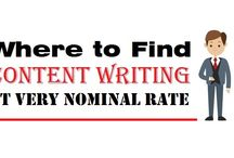 """Where to Find """"Content Writing"""" at very nominal rate"""
