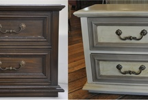 From Nay to Yay! / With just a little Chalk Paint any piece can be taken from old and dated to beautiful, eclectic-modern. KJ gives you some great inspiration to get started! interested in purchasing the paint? http://www.kathiejordandesign.com/services.php