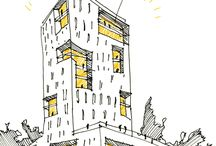 Архитектурные эскизы