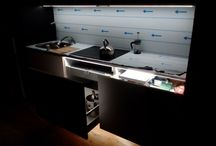 My hands made this kitchen. Pending improvals... / kitchen floating unit