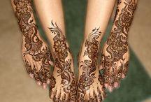 Tatouage, henné