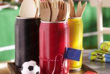 Fussball Fieber / Soccer ideas and crafts.