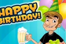 Birthday ecards / Animated birthday ecards greetings