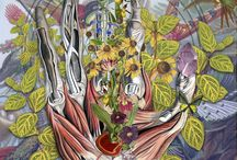 Travis Bedel / Anatomical Collages by Travis Bedel