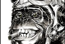 gorilla oltár