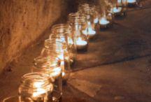 Candles at weddings