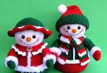 bonecos de natal.