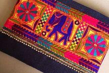 elefantes bordado