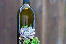 Glass bottle ideas