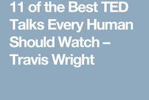 TED Talks, inspiration etc