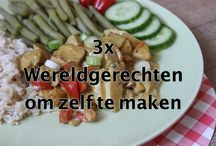 "World cuisine recipes / Recipes from all over the world ""Wereldgerechten"""