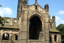 Kirkstall Abbey,Leeds, England / Kirkstall Abbey is one of the most complete examples of a medieval Cistercian Abbey in the UK