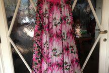 Sartorial Gala Ladies Dresses / Pure silk and taffeta