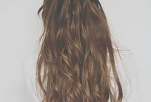 Hair Inspiration / Long hair, curly hair, straight hair, colourful hair... ♥