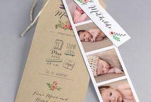 Baby Dankeskarte / Gestalte deine eigene Baby Dankeskarte mit diesen Ideen. Auch ein schöner Spruch wertet deine Dankeskarte auf.