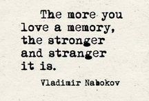 vladimir nabokov and other quotes.❤
