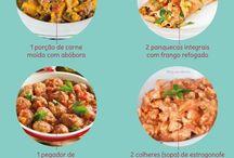 cardápios e dietas