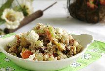 Quinoa Creations / Quinoa recipes galore! / by Kate ~ FoodBabbles.com
