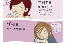 A love of Video Games!