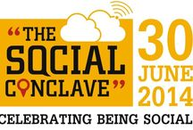 The Social Conclave / The Social Conclave (TSC) is a community of people, passionate about social media. It is an event that happens every year on 30th June, a world social media day.   Hosted by Konvophilia Communications   Supported by many passionate individuals & organizations