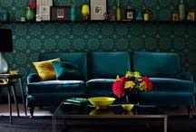 Trendy farba: machovo zelená