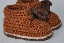 Baby booties 7 - Lace up short boots