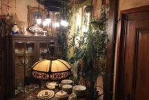 Antike Historische Deckenlampe Lampe