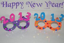 New Years crafts and party ideas