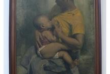 Indonesian Art (20) Dullah /  Paintings by Dullah