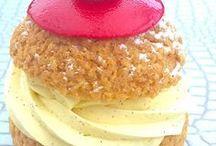 choux vanillé framboise
