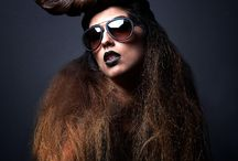 Revolver dark and beauty / A project realized with a great team: Hair style: Andrea Solinas  Make up: Lisa casu Sun glasses: Ottica Del Sole Photography: Me  Shooting at Revolver club
