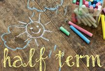 Half Term Fun / Ideas and activities to keep to and your little ones busy during half term.