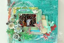 Aola Handmade Cards / Altered art , Mixed Media , Layouts and more