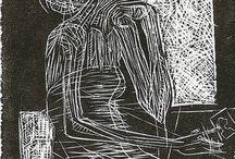 XILOGRAVURA / A arte de gravar a madeira e imprimir no papel. Uma arte bem antiga e maravilhosa.