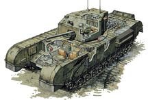 WWII Tanks - Churchill