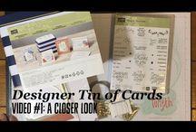 Stampin' Up! Designer Tin of Cards