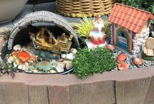 Fairy Gardens @ PKN / All fairy gardens featured have been made by PKN employees or customers participating in classes.