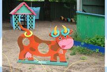 Участок в детский сад