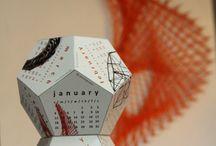 GeoDesk,  3D desk calendar