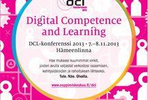 Digital Competence and Learning 2013 / Digital Competence and Learning - Lupa Onnistua Hämeenlinna, 7.-8.11.2013   Ohjelmassa inspiroivia puheenvuoroja, tietoiskuja, käytännönläheisiä esimerkkejä, hyväksi koettuja toimintamalleja sekä kädet savessa tekemistä digitaalisessa maailmassa.   Saat mukaasi työkaluja itsesi ja muiden johtamiseen, uusia ideoita yrityksesi ja työsi kehittämiseen sekä rohkeutta muutosten tekemiseen.   #dcl2013 #hämeenlinna #tapahtuma #digital #competence #learning #suomi