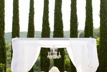 Tuscan wedding / Decor