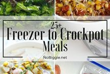 Freezer Meals in a Pinch